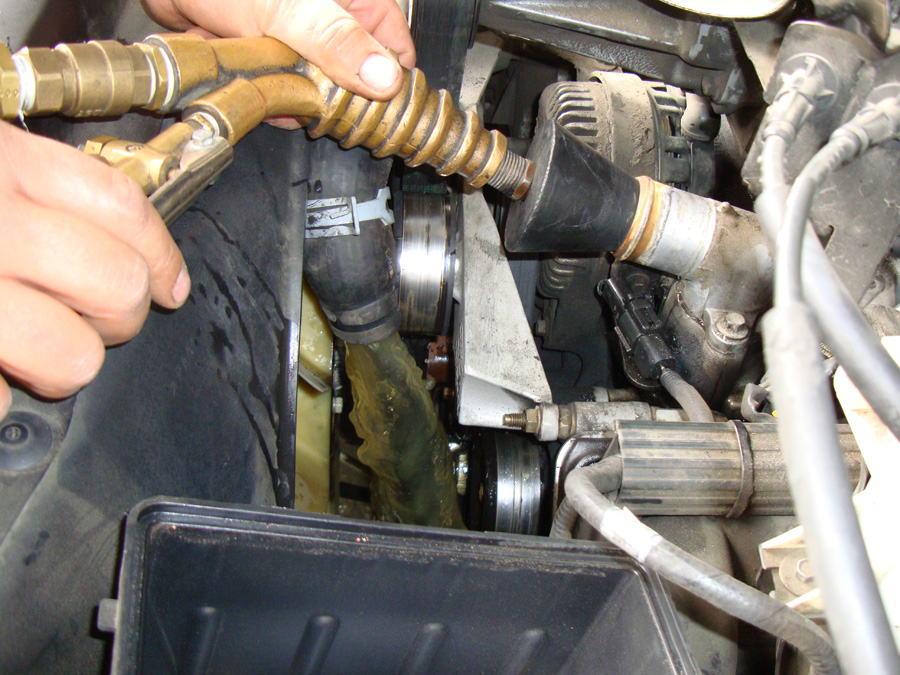 How To Reverse Flush Vehicle Enhancement Labs
